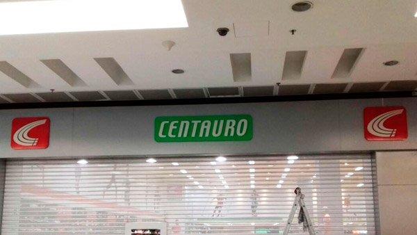 Fachada Centauro ACM